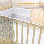 Protector de cuna para bebé